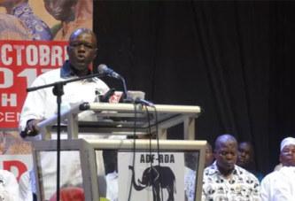 Rentrée politique de l'ADF/RDA: «On ne peut pas diviser le Burkina Faso en peuple insurgé et en peuple non insurgé», Gilbert N. Ouédraogo