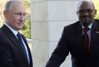 Omar el-Béchir demande la protection de Poutine contre les États-Unis