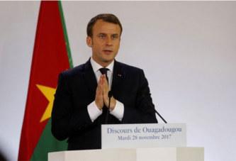 Ce qu'il faut retenir du discours d'Emmanuel Macron à Ouagadougou