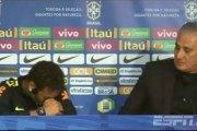 PSG: en conférence presse, Neymar quitte la salle les larmes aux yeux(Vidéo)
