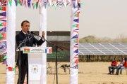 Burkina : la plus grande centrale solaire d'Afrique de l'Ouest inaugurée en présence d'Emmanuel Macron