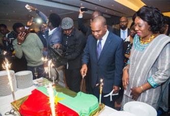 57è anniversaire de l'indépendance:  Depuis Bruxelles, Alpha Barry souhaite une«très bonne fête» de l'indépendance à la diaspora