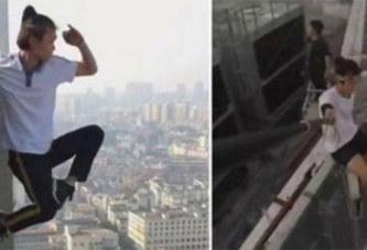 Pour impressionner ses fans, il mettait sa vie en danger: Il chute du haut d'un gratte-ciel de 62 étages et meurt immédiatement (vidéo)