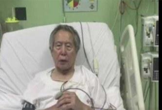 Pérou: L'ex-président demande pardon au peuple depuis son lit d'hôpital