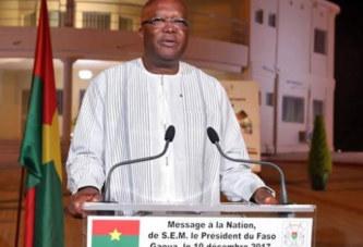 Message du président du Faso à l'occasion du 11 décembre: A propos de la réconciliation nationale, Roch Kaboré pense que » Nous devons nous donner toutes les chances pour y parvenir»