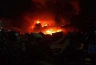 Burkina Faso: Réveillon de Noël, incendie de plusieurs commerces de meubles