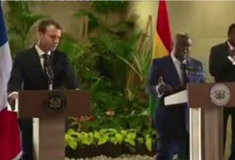 La réponse magistrale du président ghanéen Akufo Addo à Emmanuel Macron (vidéo)