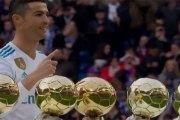 Cristiano Ronaldo annonce son prochain objectif après son 5ème Ballon d'Or