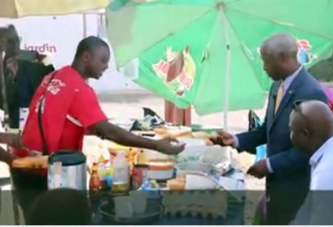 Sénégal: L'ex ambassadeur des USA au Burkina, Tulinabo Mushingi se fait déjà remarquer!