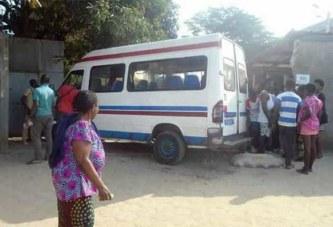 Yopougon : pris d'épilepsie, un chauffeur de Gbaka termine sur le mur d'une église (photos)
