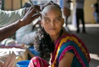Cheveux venus d'Inde : ces mèches, dites « humains », qui ensorcellent les femmes noires (photos)