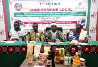 «Consommons local» : une foire pour valoriser les produits made in Burkina