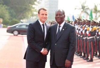 Exclusif: Emmanuel Macron a-t-il demandé à Alassane Ouattara d'effectuer un 3e mandant ?
