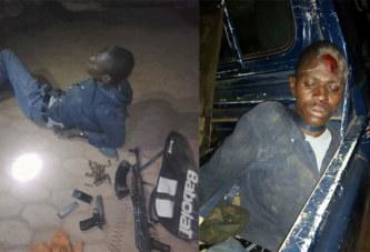 Lutte contre l'insécurité: la Brigade Anti Criminalité de Ouagadougou interpelle un individu armé à Karpala.