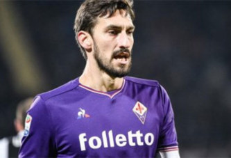 Football: Mort subite du capitaine de la Fiorentina Davide Astori