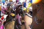 Nigéria - Elle accouche d'un lézard en plein marché : ce, après deux ans de grossesse (photos)