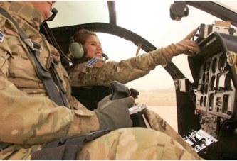 Sandra Hernandez, la seule femme à piloter des hélicoptères armés à la MINUSMA