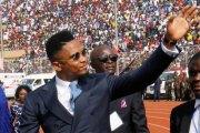 Samuel Eto'o n'a pas aimé un poisson d'avril l'annonçant candidat à la présidence du Cameroun