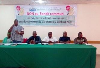 Burkina: une coalition de commerçants contre le fonds commun