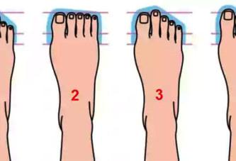 Vos formes de pieds qui révèlent des choses très spéciales sur votre personnalité