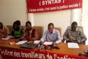 Action sociale : le Syntas observe un arrêt de travail de 96h pour compter du 24 avril 2018
