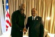 En visite à Abidjan : Weah ne pouvait pas ne pas rencontrer « son ami », Guillaume Soro