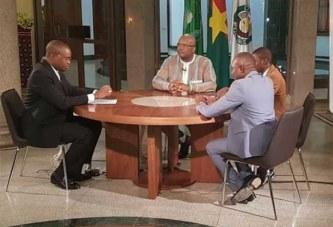 Vidéo Mi-mandat : : Entretien avec le Président du Faso du 24 juin 2018