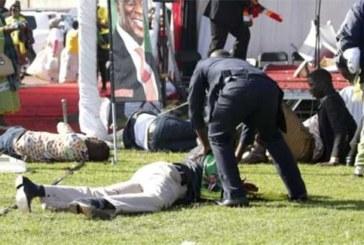 Zimbabwe : 41 blessés dans l'attentat qui a visé un meeting du président