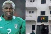 Le footballeur Arouna Koné ouvre une école à Yopougon !