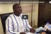 Vidéo - Mi-mandatRoch Kaboré: Le bilan du Chef de fil de l'opposition