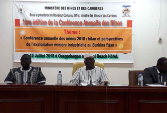Recettes minières : « Nous sommes passés de 190 milliards en 2016 à 226 milliards en 2017 » (Oumarou Idani, ministre des mines et des carrières)