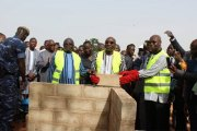 Burkina Faso : Pause de la 1ère pierre de la cité de la diaspora à Koubri