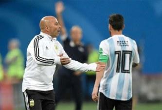 Messi, à Sampaoli : «On n'a plus confiance en toi»