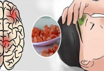 Voici comment arrêter instantanément une migraine avec du sel de l'Himalaya