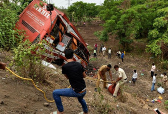 Inde : 43 morts dans un accident de circulation