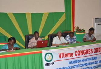 7e congrès ordinaire du MBDHP: les participants dénoncent l'incapacité du pouvoir à garantir le droit des populations à la sécurité