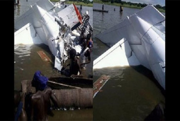 Soudan du Sud: un crash d'avion fait 19 morts (PHOTOS)