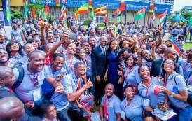 4èmeForum annuel de la Fondation Tony Elumelu sur l'entrepreneuriat annoncé pour le 25 octobre 2018:  5 000 entrepreneurs seront accueillis à Lagos pour le plus grand rassemblement d'entrepreneurs jamais organisé en Afrique