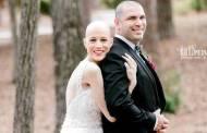 Une femme a défié sa maladie pour pouvoir assister à son mariage