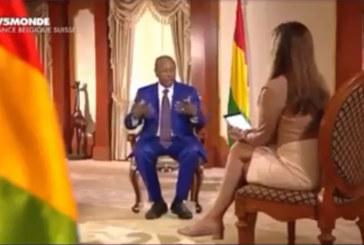 Guinée: Alpha Condé s'énerve contre des journalistes français qui lui manquent de respect
