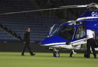 Angleterre: Le président de Leicester City meurt dans le crash de son hélicoptère