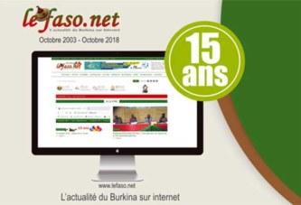 Médias : le site d'information en ligne «lefaso.net» a 15 ans