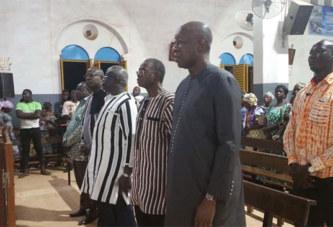 Burkina -Journée de jeûne et de prières pour la paix: Les Chrétiens invités à continuer la prière et cultiver la paix par le Cardinal