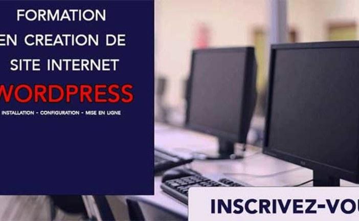 Formation en Création de site internet ouvert Tout public