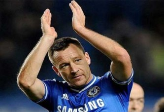 Football: la légende de Chealsea, John Terry prend sa retraite