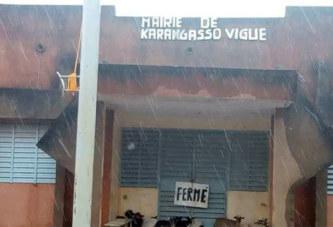 Karangasso vigué: la mairie fermée, la clé remise au préfet