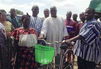 Agriculture: Le meilleur producteur rizicole récompensé à Kouzoughin