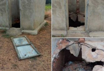 Caisse populaire de la Commune de Bondokuy: des latrines en piteux état