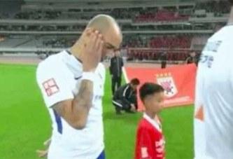 Chine: Le brésilien Tardelli suspendu pour irrespect envers l'hymne chinois