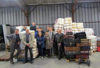 Emmaüs envoie 12 tonnes de vêtements, 3000 paires de chaussures (…) pour le Burkina-Faso